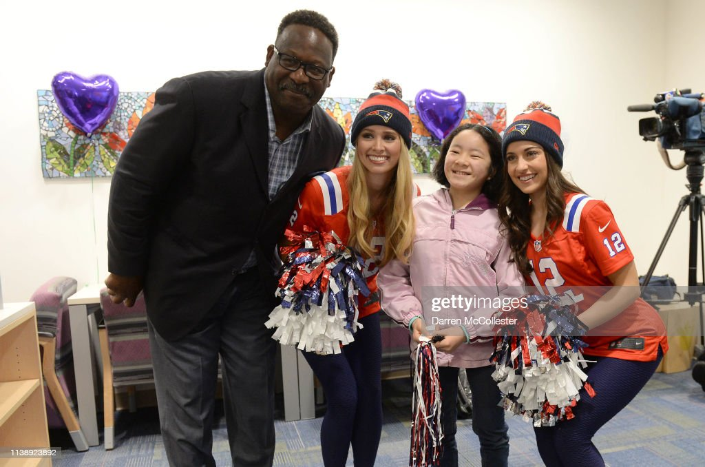 MA: New England Patriots And New Era Present Check To Boston Children's Hospital
