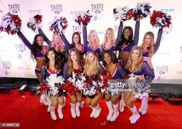 New England Patriots Cheerleaders attend The 27th Annual Party With A Purpose on February 3 2018 in St Paul Minnesota