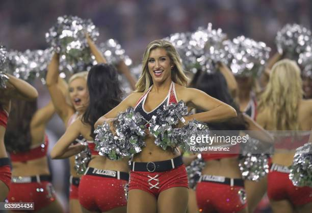 New England Patriots cheerleaders peform during the second half of Super Bowl 51 between the New England Patriots and the Atlanta Falcons at NRG...