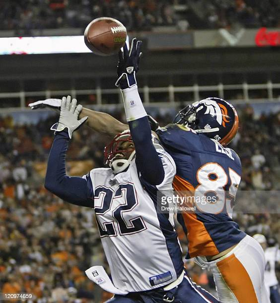 Denver Broncos Ashley Lelie Stock Photos And Pictures