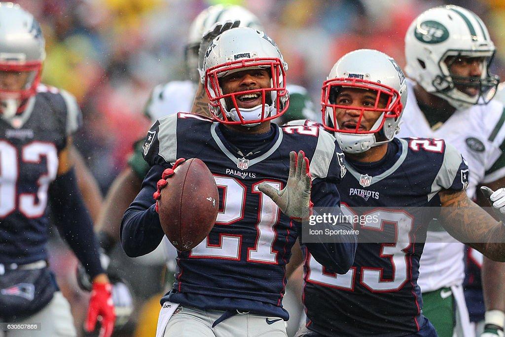 NFL: DEC 24 Jets at Patriots : News Photo