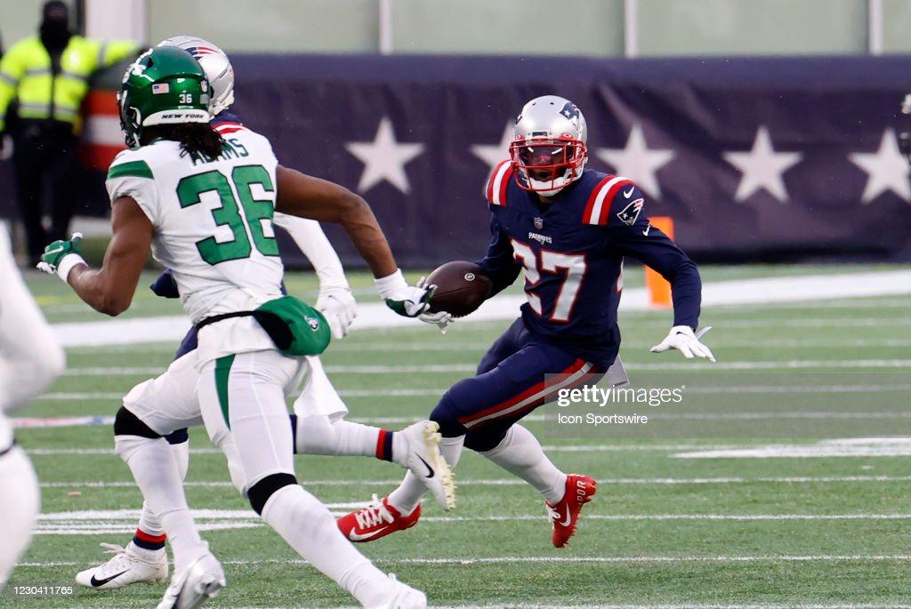 NFL: JAN 03 Jets at Patriots : News Photo