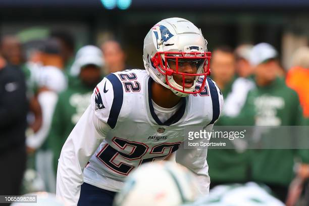 New England Patriots defensive back Obi Melifonwu during the National Football League game between the New England Patriots and the New York Jets on...