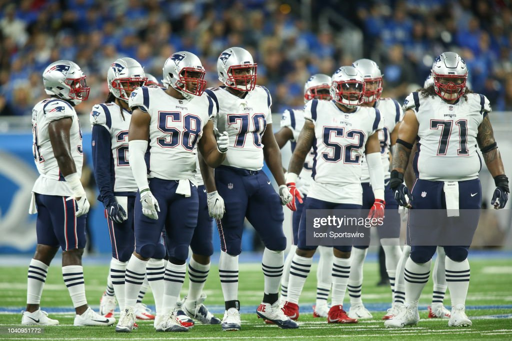 NFL: SEP 23 Patriots at Lions : News Photo