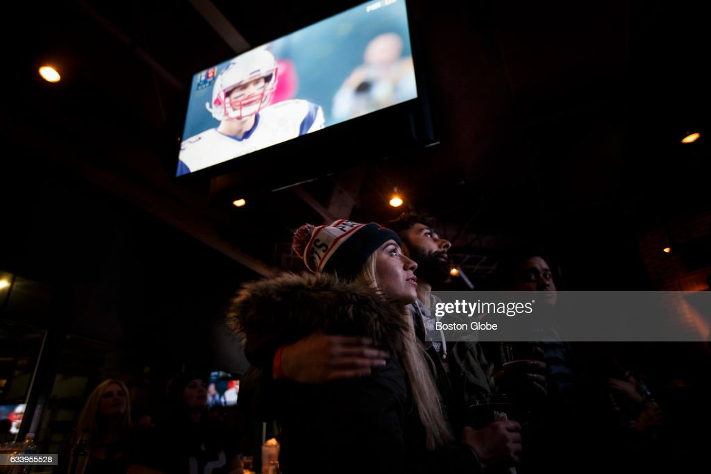 Super Bowl LI Watch Parties In Boston : Nachrichtenfoto