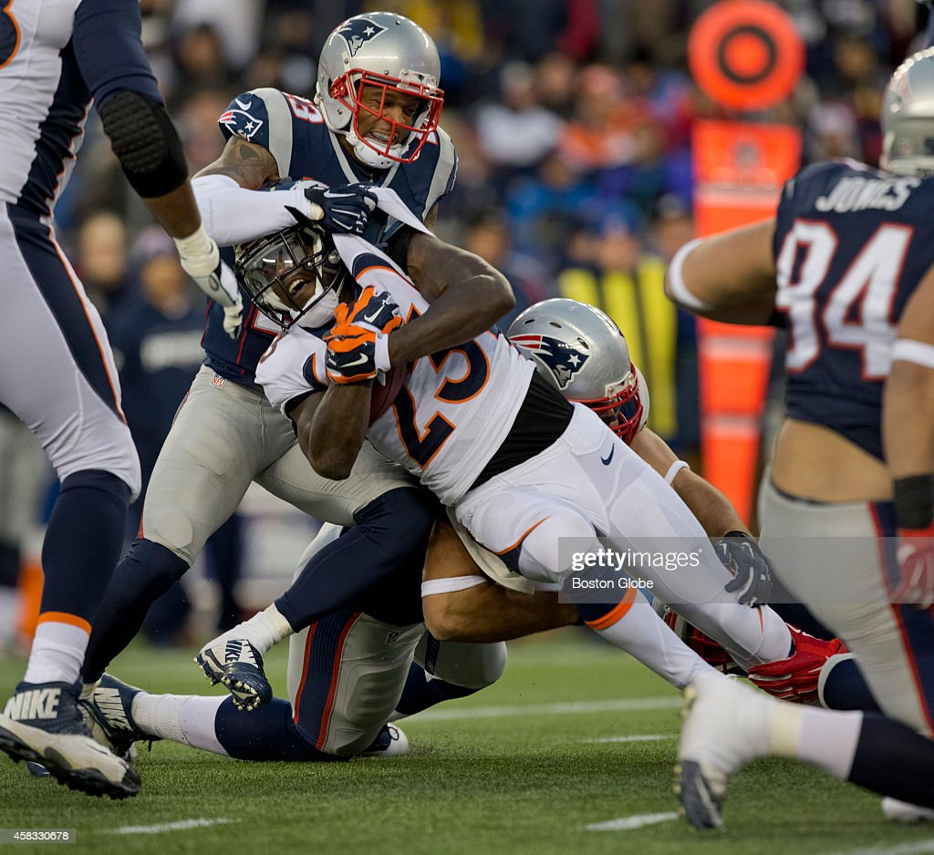 New England Patriots Vs Denver Broncos At Gillette Stadium