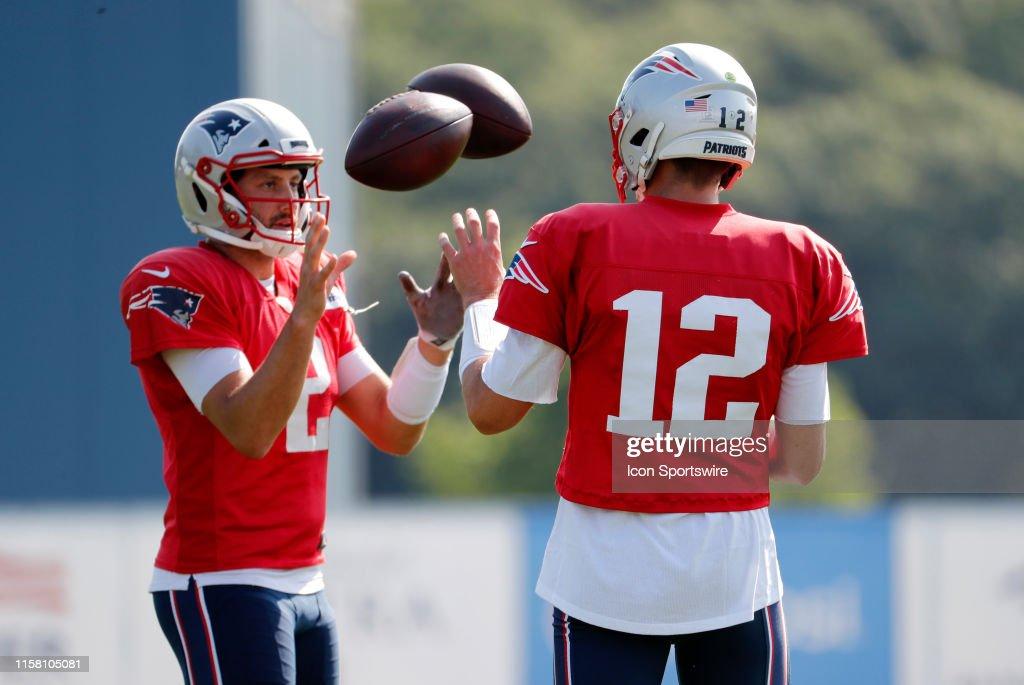 NFL: JUL 27 Patriots Training Camp : News Photo