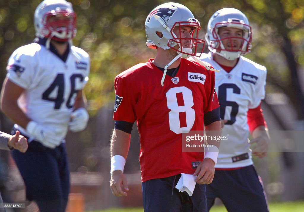 New England Patriots Quarterback Taylor Heinicke Center News Photo Getty Images