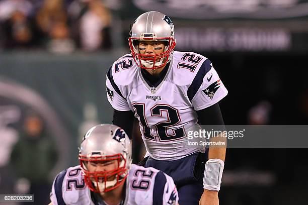 New England Patriots quarterback Tom Brady during the fourth quarter of the National Football League game between the New England Patriots and the...