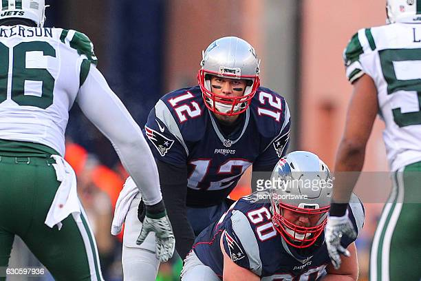 New England Patriots quarterback Tom Brady during the National Football League game between the New England Patriots and the New York Jets on...