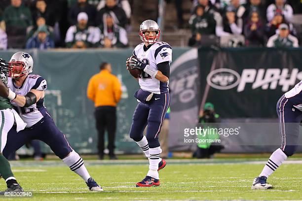 New England Patriots quarterback Tom Brady during the second quarter of the National Football League game between the New England Patriots and the...