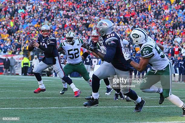 New England Patriots quarterback Tom Brady during the third quarter of the National Football League game between the New England Patriots and the New...