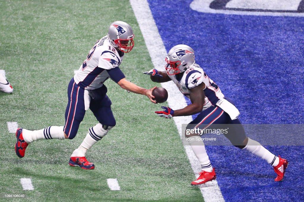 NFL: FEB 03 Super Bowl LIII - Rams v Patriots : News Photo