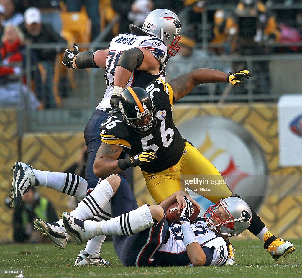 13451b43c54 New England Patriots Vs. Pittsburgh Steelers At Heinz Field   News Photo