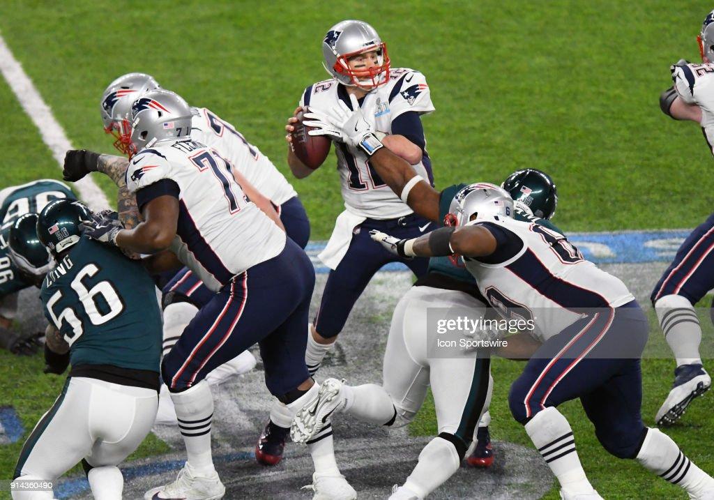 53b917b7f3e New England Patriots Quarterback Tom Brady is stripped of the ball ...