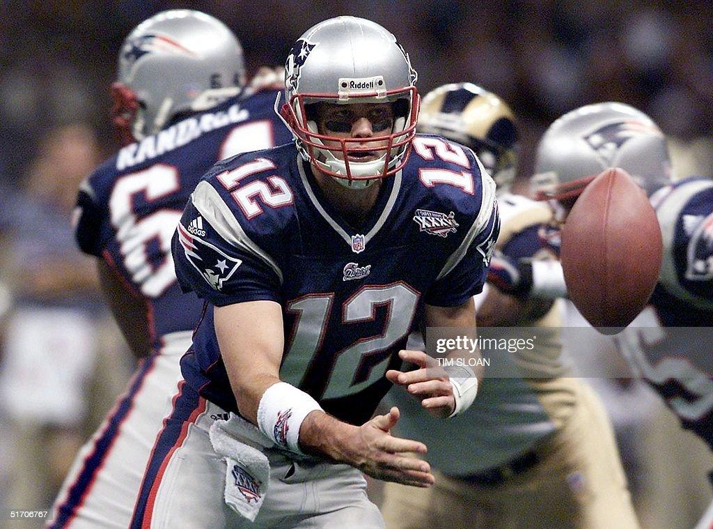 best service 487ed c03dc Super Bowl Xxxvi Pictures and Photos - Getty Images