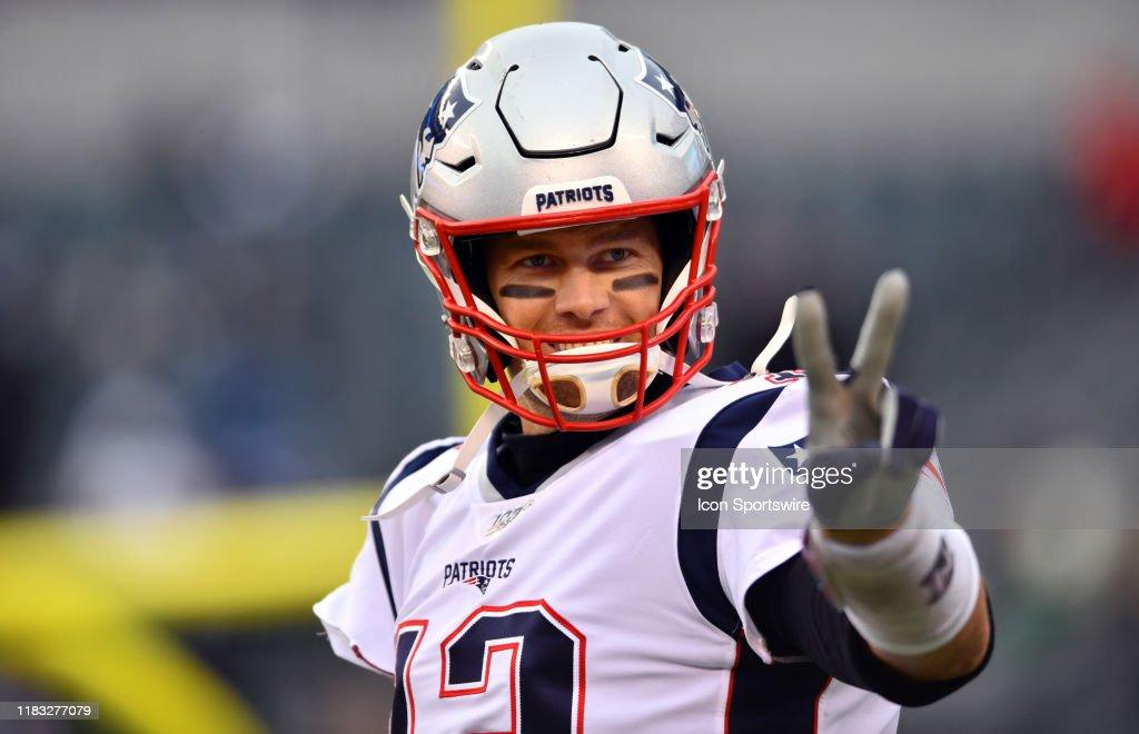 NFL: NOV 17 Patriots at Eagles : Nachrichtenfoto
