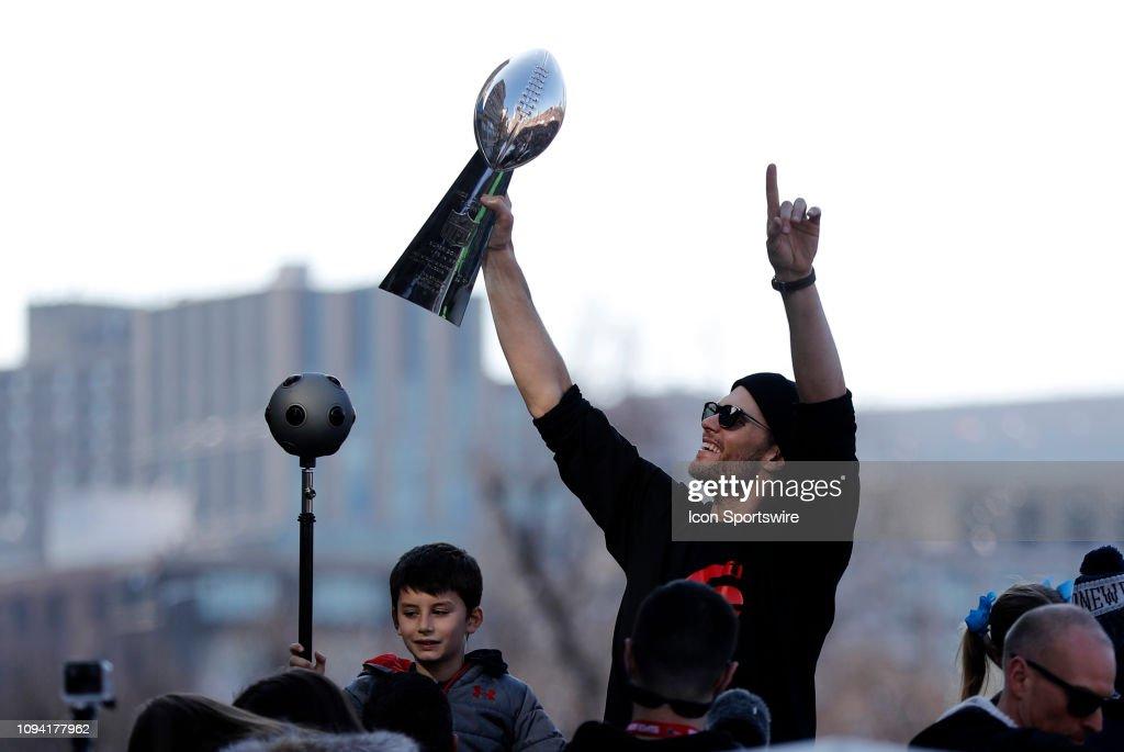 NFL: FEB 05 Patriots Super Bowl Victory Parade : Nachrichtenfoto