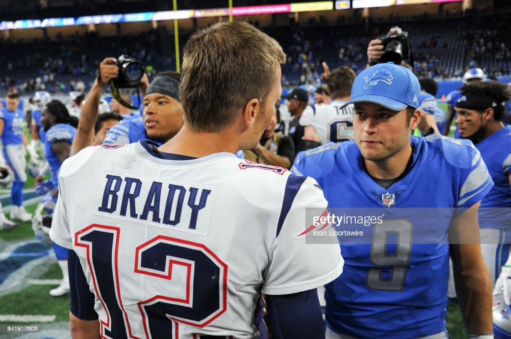 NFL: AUG 25 Preseason - Patriots at Lions : News Photo