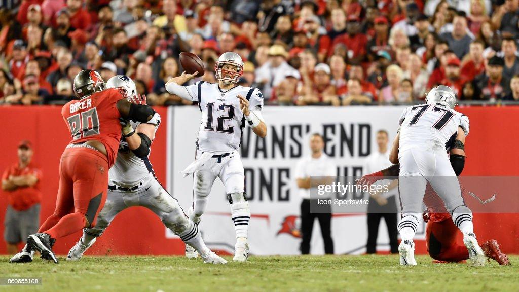 NFL: OCT 05 Patriots at Buccaneers : News Photo