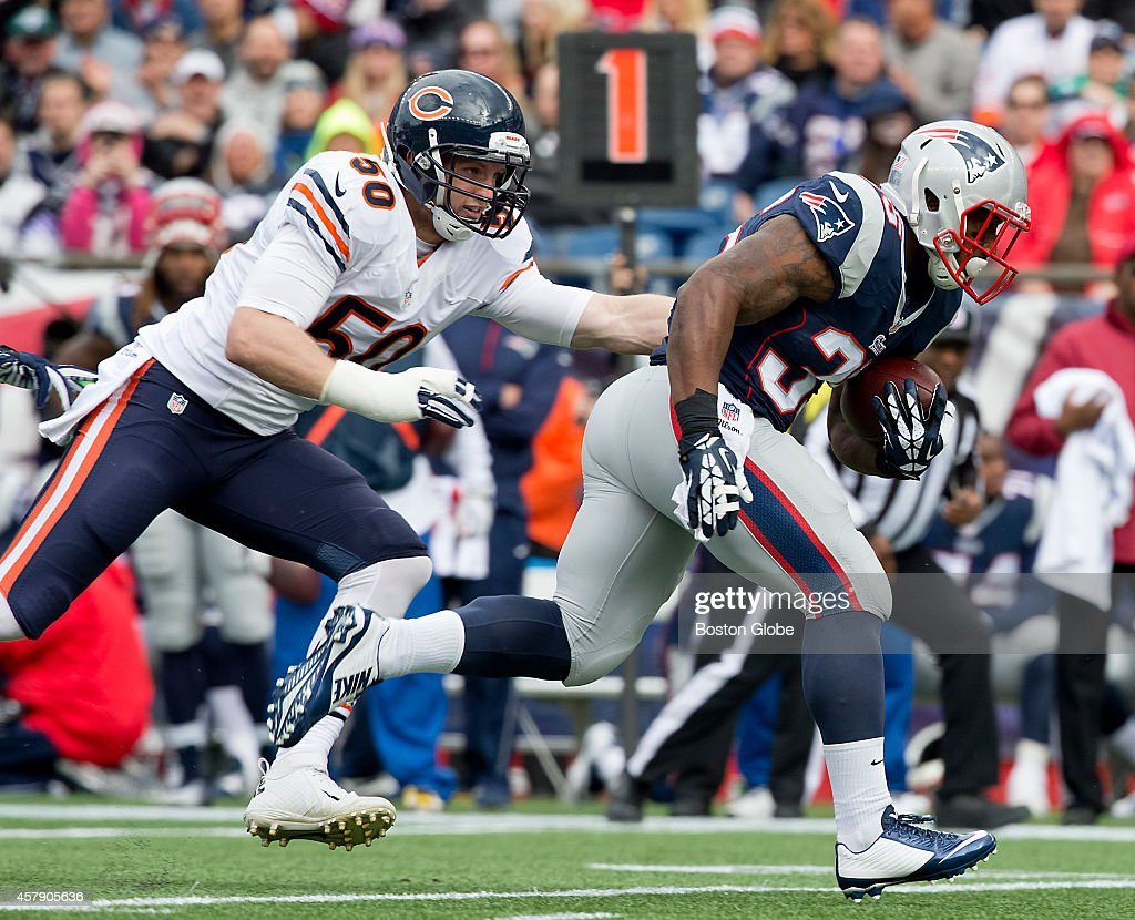 Chicago Bears Vs. New England Patriots At Gillette Stadium : News Photo