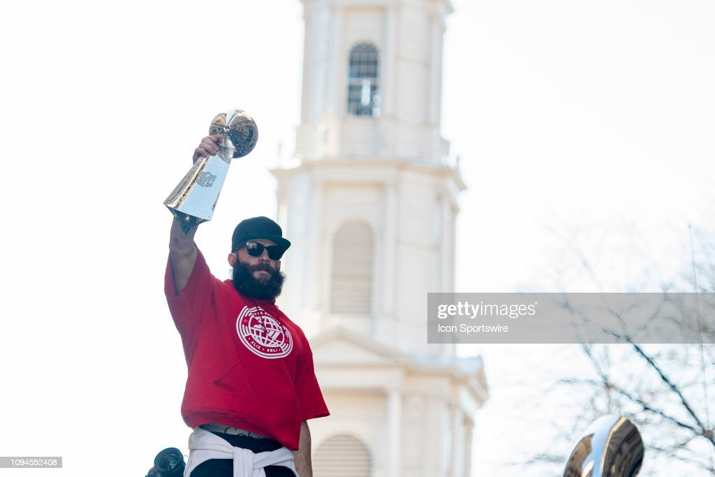 NFL: FEB 05 Patriots Super Bowl Victory Parade : News Photo