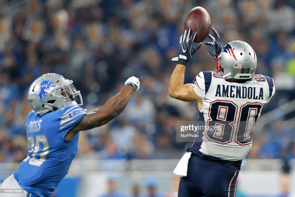 New England Patriots v Detroit Lions : News Photo