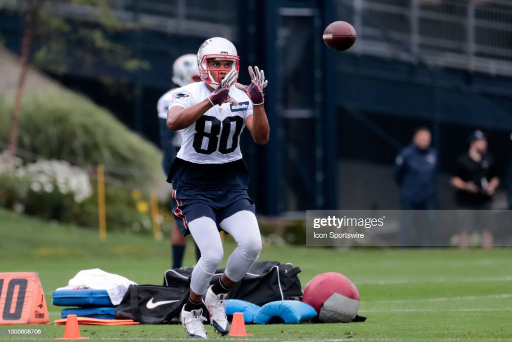NFL: JUL 26 Patriots Training Camp : News Photo