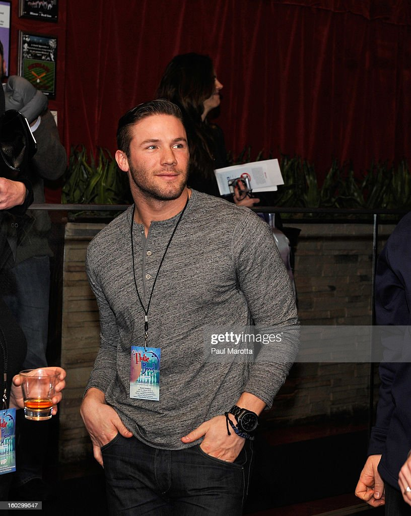 New England Patriots Wide Receiver Julian Edelman attends the10th Annual Flutie Bowl to strike out autism at KINGS on January 28, 2013 in Boston, Massachusetts.
