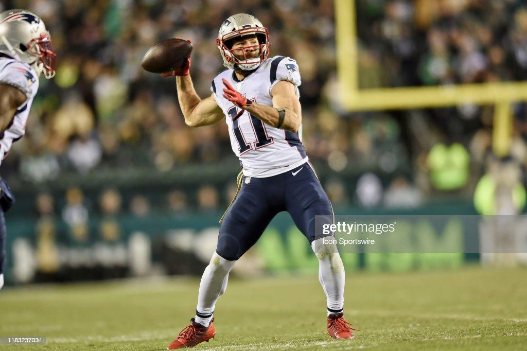 NFL: NOV 17 Patriots at Eagles : News Photo
