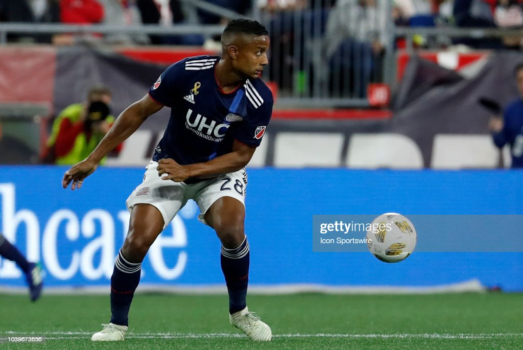 SOCCER: SEP 22 MLS - Chicago Fire at New England Revolution : News Photo