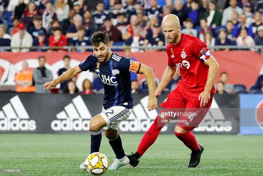 SOCCER: AUG 31 MLS - Toronto FC at New England Revolution : News Photo