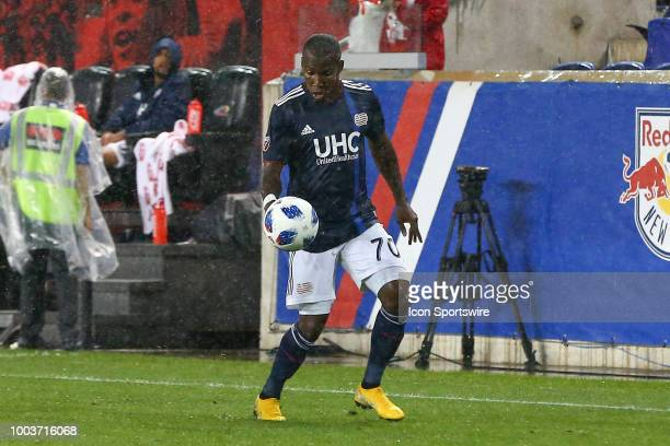 New England Revolution forward Cristian Penilla during the second half of the Major League Soccer game between the New York Red Bulls and the New...