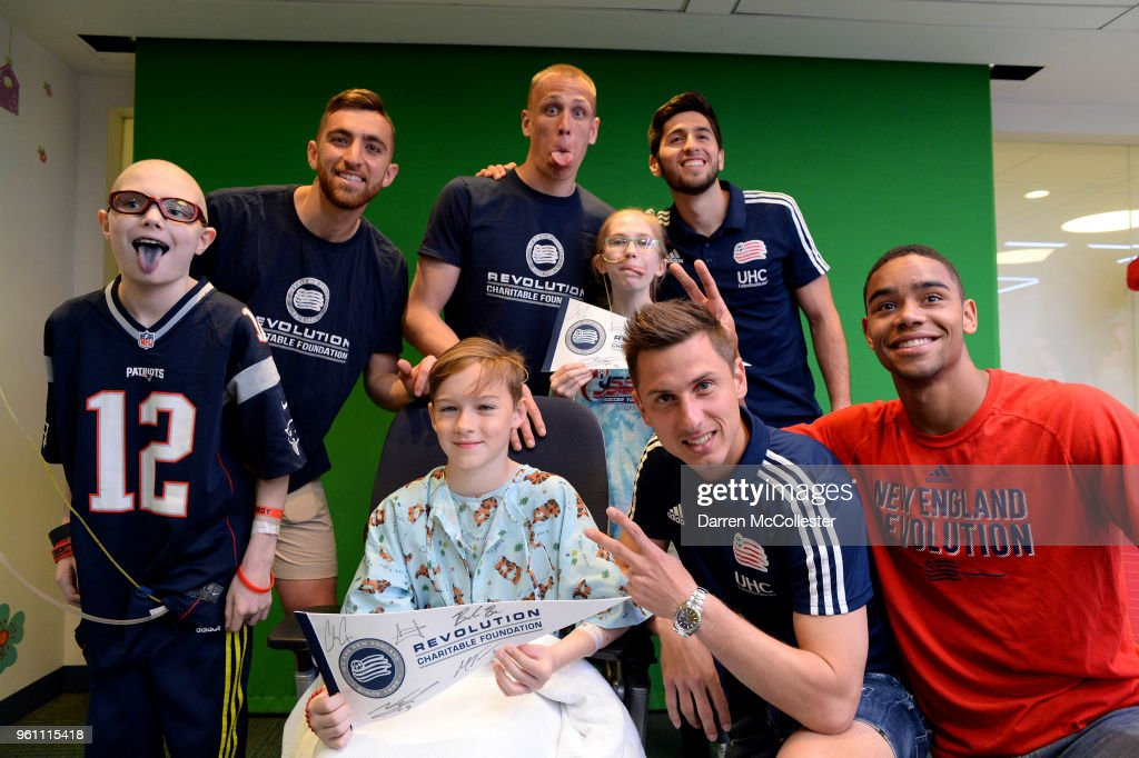 The New England Revolution Hilariously Lip Sync Battle at Boston Children's Hospital