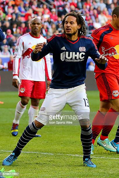 New England Revolution midfielder Jermaine Jones during the second half of the MLS Eastern Conference Final between the New York Red Bulls and the...