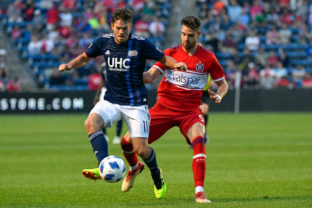sports shoes 0c2aa 5651d SOCCER: JUN 09 MLS - New England Revolution at Chicago Fire ...