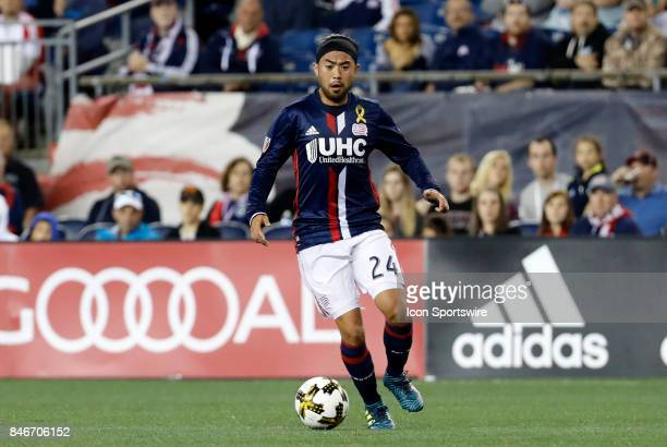 4c8fa654100 New England Revolution midfielder Lee Nguyen breaks free during an MLS  match between the New England