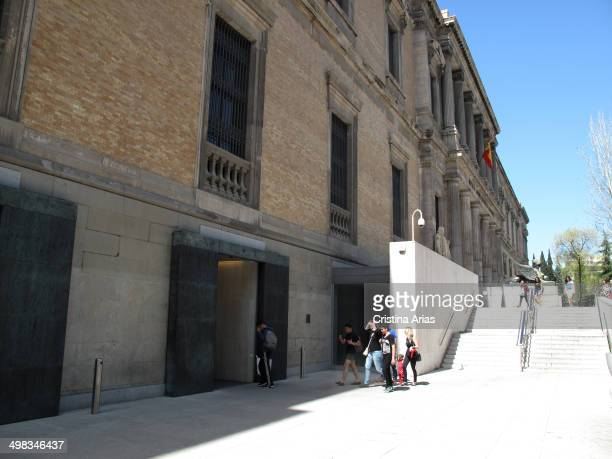 New entrances to the National Archaeological Museum after the complete renovation of the museum conducted between 2008 and 2014 under the direction...