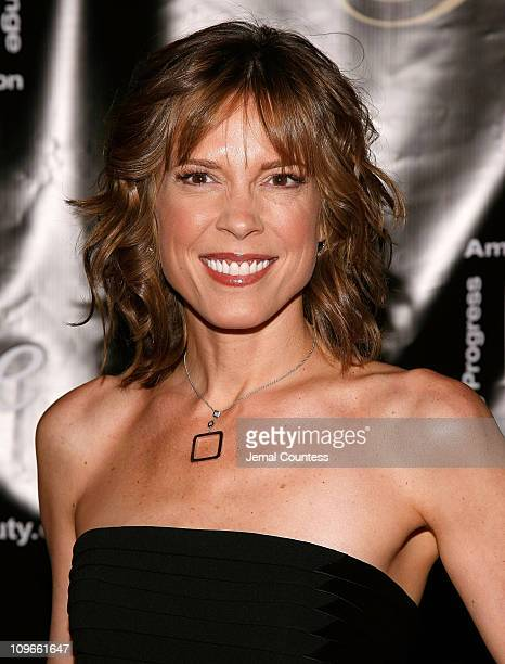 New ESPN SportsCenter anchor Hannah Storm attends the 33rd Annual American Women In Radio Television Gracie Allen Awards at the Marriott Marquis on...