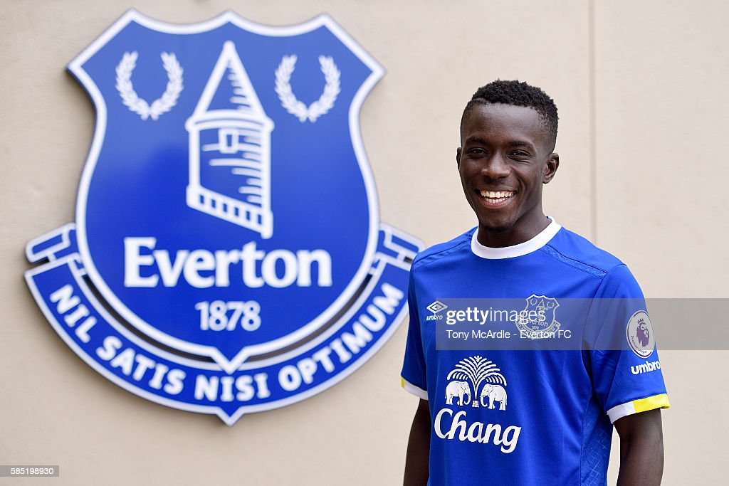Everton Unveil New Signing Idrissa Gueye