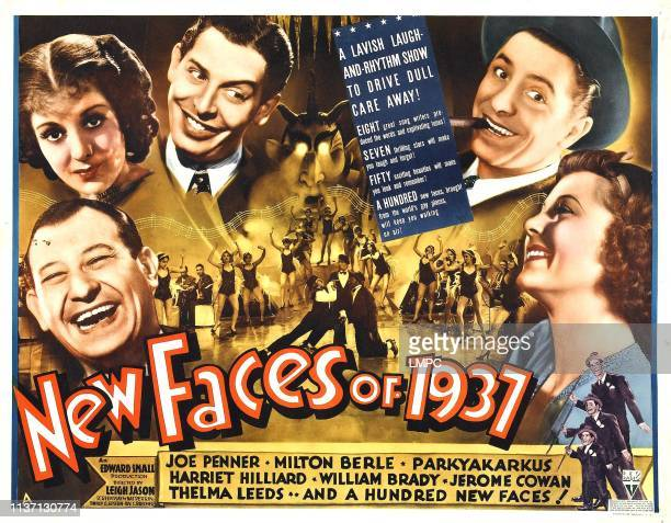 New Faces Of 1937 poster
