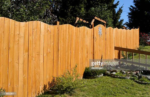 New Fence With Wave Design