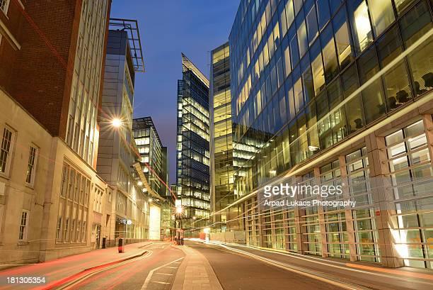 New Fetter Lane in London