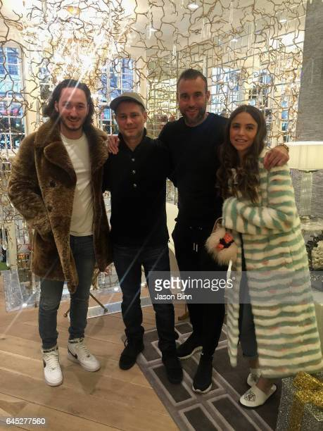 New Flag CEO and Founder Niki Epstein Jason Binn Philipp Plein Gloria Dieth circa December 2016 in New York City