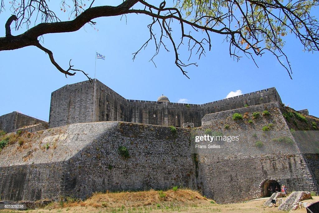 New Fortress, Corfu Town, Corfu Island, Greece : Stockfoto