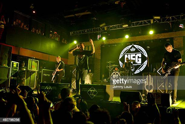 New Found Glory perform at Revolution on October 14 2015 in Fort Lauderdale Florida