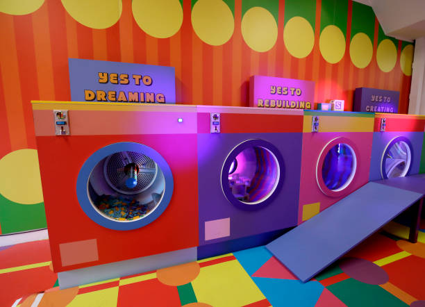 GBR: The LEGO Group and Yinka Ilori unveil the Launderette of Dreams