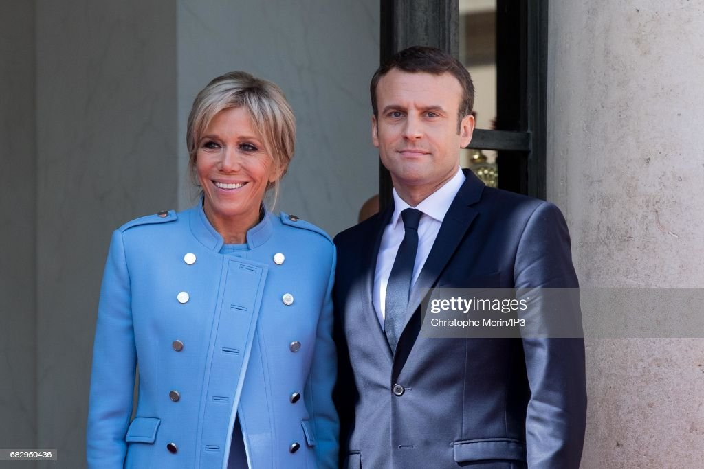 Emmanuel Macron Officially Inaugurated As French President : News Photo