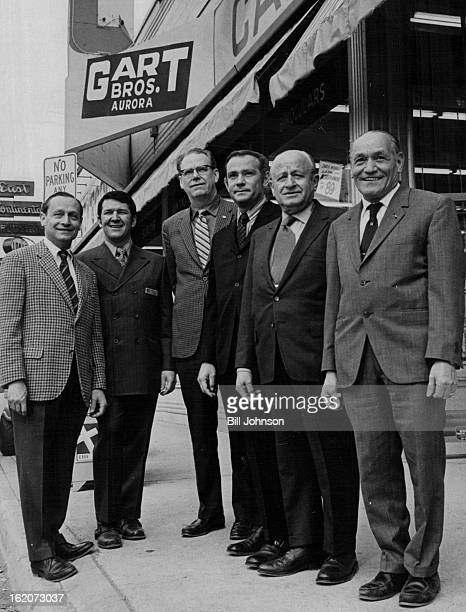APR 1 1971 APR 4 1971 New Gart Store Has Big Opening Principals of Gart Brothers Sporting Goods Co turned out in force for the formal opening of...