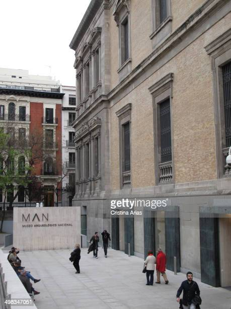 New gateways to the National Archaeological Museum after the complete renovation of the museum conducted between 2008 and 2014 under the direction of...